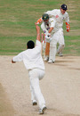 Younis Khan is bowled by Monty Panesar, England v Pakistan, 3rd Test, Headingley, August 8, 2006