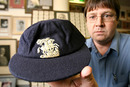 The cap worn by Eric Hollies when he dismissed Don Bradman for a duck in his final Test match. It is to be auctioned on August 16, 2006, in Australia