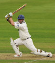 Iain Sutcliffe on his way to a hundred, Lancashire v Warwickshire, County Championship, Blackpool, August 30, 2006