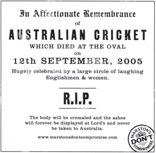 The death of Australian cricket
