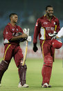Shivnarine Chanderpaul and Chris Gayle completed a 10-wicket win for West Indies, West Indies v Bangladesh, Champions Trophy, Jaipur, October 11, 2006