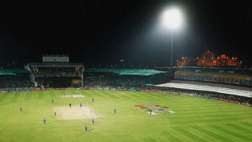A general view of the Sawai Mansingh Stadium, Jaipur