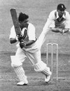 Vinoo Mankad batting against England