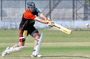 Ryan Higgins of Zimbabwe during net practice in Bangladesh, Narayanganj, November 23, 2006
