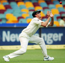 Glenn McGrath poised to take the winning catch