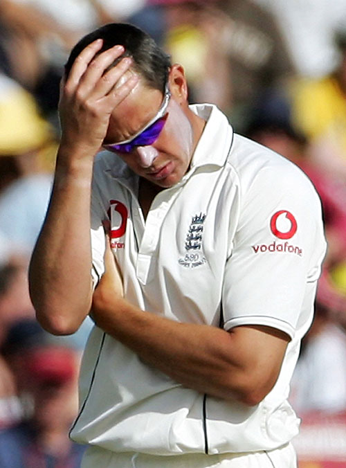 A bad day at the office for Ashley Giles