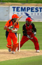 Billy Stelling works to leg, Canada v Netherlands, 5th match, ICC Tri-Series, Benoni, December 1, 2006