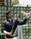 Sreesanth won the Man-of-the-Match award for his match figures of 8 for 99,South Africa v India, 1st Test, Johannesburg, 4th day, December 18, 2006
