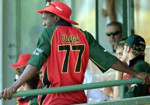 Henry Olonga took a brave stand