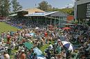 The Wednesday afternoon crowd at Kingsmead