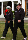 Darrell Hair returns to umpiring, Canada v Scotland, ICC Tri Series, Mombasa, January 18, 2007