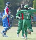 Clay Smith walks off after being dismissed for 0 by Thomas Odoyo Kenya v Bermuda, World Cricket League,  Jaffreys SportsClub, Nairobi, January 29, 2007