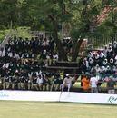 School kids cheer on Kenya at the Nairobi Gymkhana, Kenya v Netherlands, 6th Match, Nairobi Gymkhana, January 31, 2007
