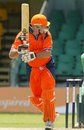 Darron Reekers clips a leg-side boundary on his way to 104, Ireland v Netherlands, World Cricket League, Nairobi, February 5, 2007