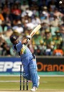 Sachin Tendulkar launches Andy Caddick into space, India v England, Durban, 30th match, World Cup, February 26, 2003