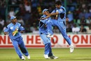 Ashish Nehra took 6 for 23 against England, India v England, Durban, 30th match, World Cup, February 26, 2003