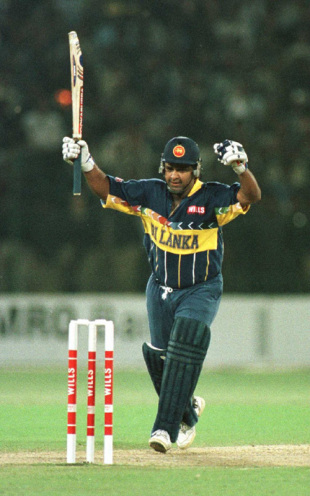 Four years later, Ranatunga would lead Sri Lanka to an even greater triumph