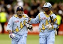 Sachin Tendulkar and Rahul Dravid scored unbeaten hundreds as India pulverized Kenya, 15th match: India v Kenya, Bristol, May 23, 1999