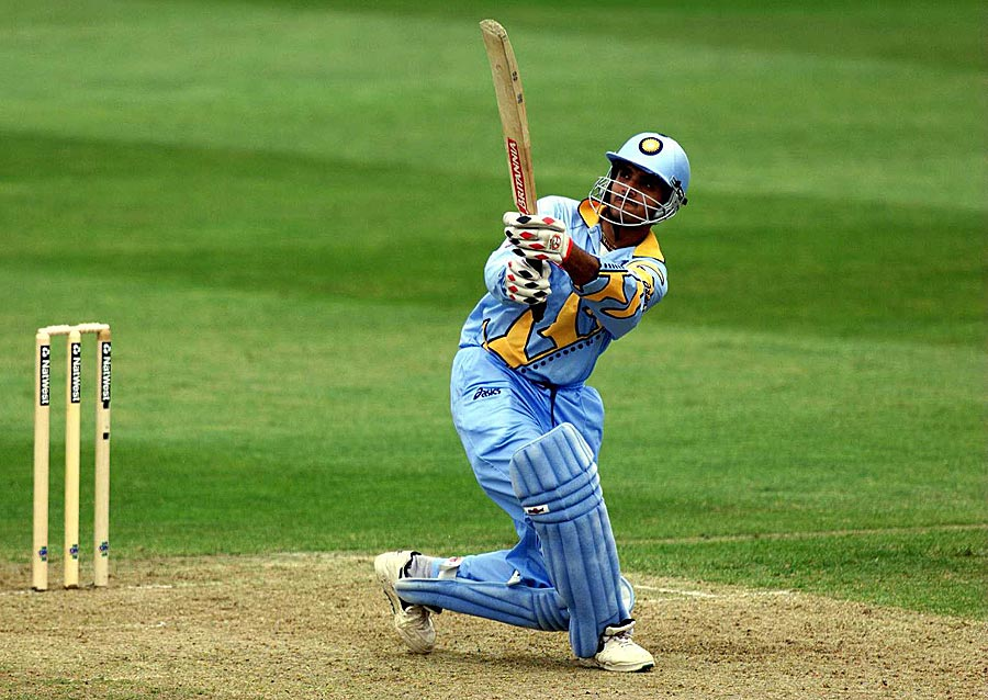 "Sourav Ganguly <a href=""http://www.espncricinfo.com/ci/engine/current/match/65213.html"" target=""_blank""><u style=""color:red"">183</u></a> in 1999: Sri Lanka had a torrid day in Taunton as Ganguly shattered several records. Besides notching up the second-highest score in World Cups, Ganguly was involved in a 318-run stand with Rahul Dravid, the highest in limited-overs internationals at the time."