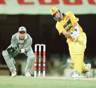 Mark Waugh was in one of those zones where everything he tried came off