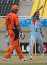 Irfan Pathan traps Darron Reekers leg-before, India v Netherlands, Trelawny, Jamaica, March 6, 2007