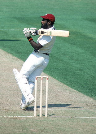 When Richards played the stroke, most eyes went to the boundary