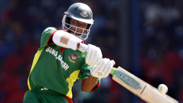 Tamim Iqbal launches into one during his ferocious 51