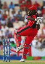 George Codrington pulls powerfully, Canada v England, Group C, St Lucia, March 18, 2007