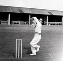 Subhash Gupte in the nets at Lord's in 1961