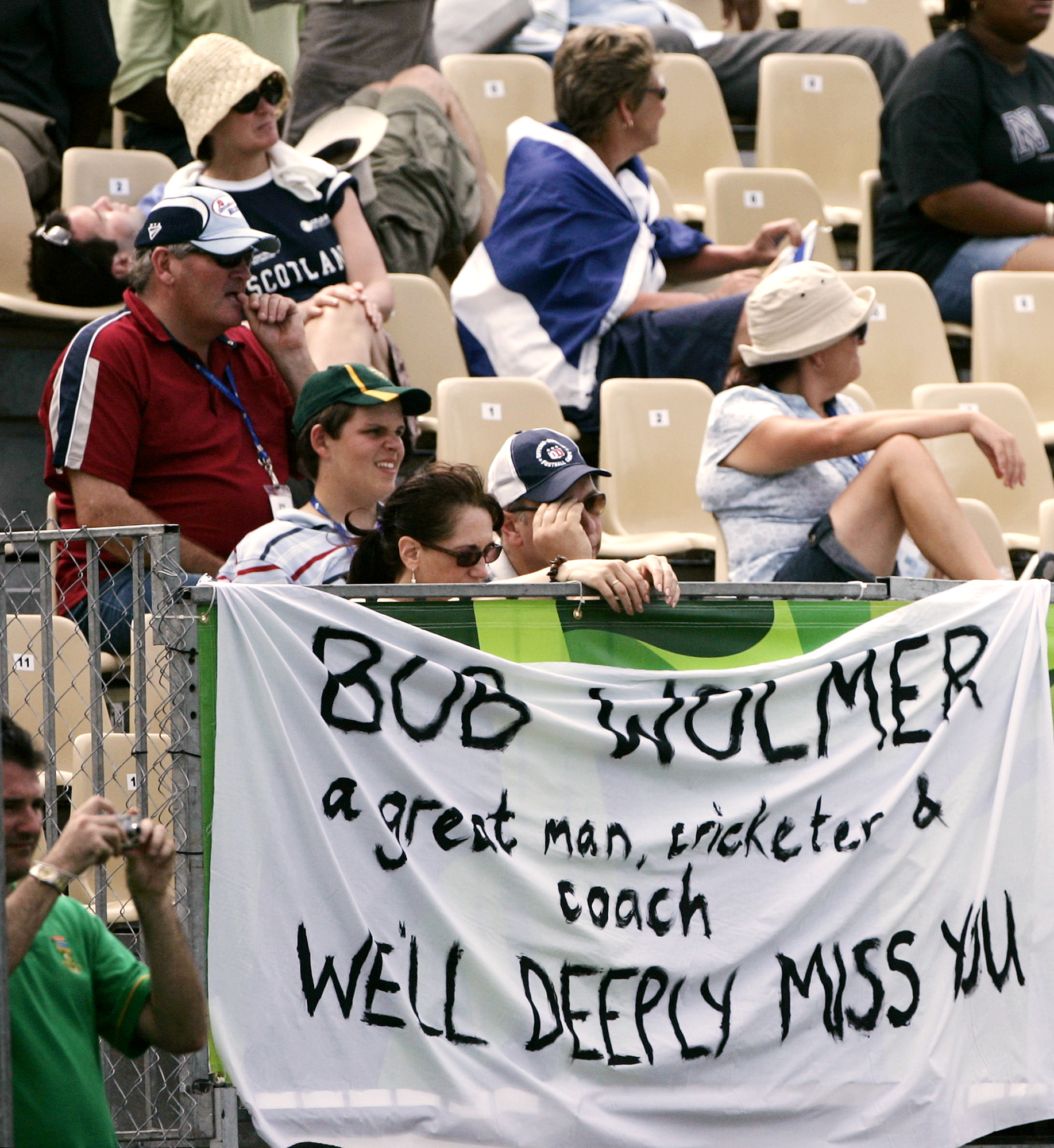 Woolmer was a well-loved player and coach among cricketers as well as fans