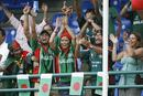 Bangladesh fans are ecstatic after their team beat Bermuda and progressed to the Super Eight of the World Cup, Bangladesh v Bermuda, Trinidad, March 25, 2007