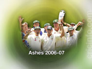 Ricky Ponting with his team