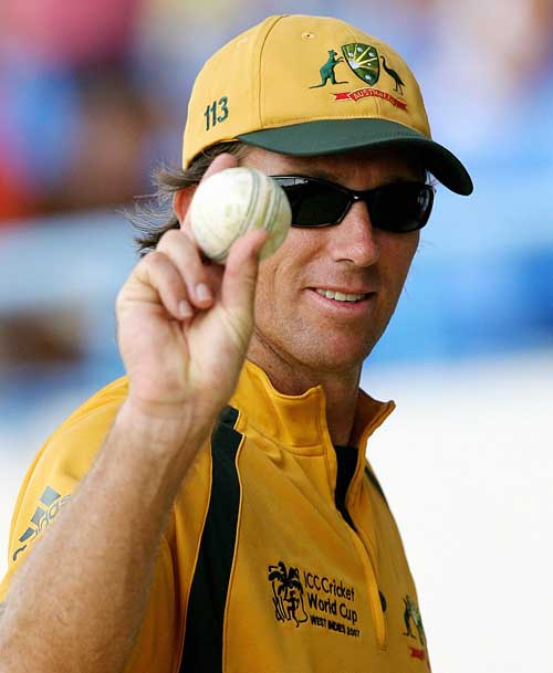 Glenn McGrath led Australia to 10 wicket victory.