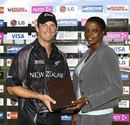 Shane Bond was the Man of the Match for his spell of 2 for 15 in ten overs, Bangladesh v New Zealand, Super Eights, Antigua, April 2, 2007