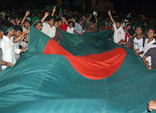 Bangladesh want to raise their flag even higher