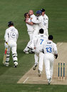 Robert Key is dismissed by Jason Lewry, Sussex v Kent, County Championship Division One, Hove, April 20, 2007