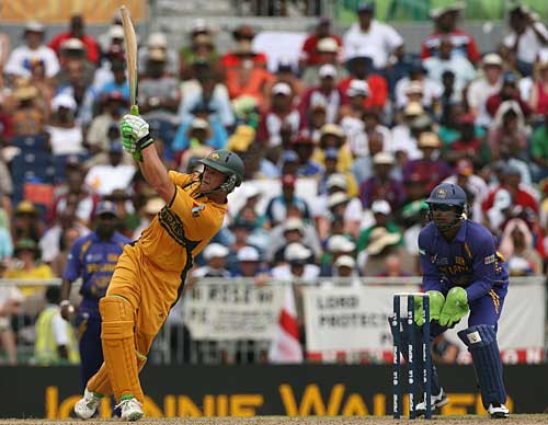Adam Gilchrist: top performer in big matches in World Cups