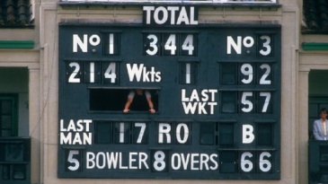 The scoreboard tells the story of a remarkable win