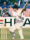 Paul Parker batting at Horsham in 1985