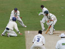 Roger Sillence is caught by Anthony McGrath off Adil Rashid, Yorkshire v Worcestershire, Headingley, May 12, 2007