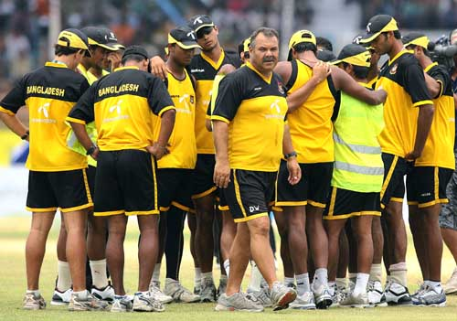 Bangladesh are keen to offer a farewell gift to Dav Whatmore