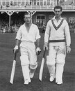 Bill Edrich and Reg Simpson open for MCC against Yorkshire, Scarborough, September 1, 1951