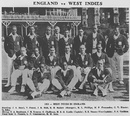 The West Indian squad that toured England in 1923, before Test status was conferred on the region