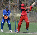 Courtney Kruger hit 50 for Hong Kong against Italy - WCL Div 3, Darwin 31.05.2007