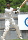 Kevin Stoute on his way to his maiden hundred