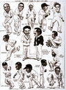 Pen portraits of the 1932 India tourists