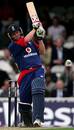 Paul Collingwood hammers one through the leg side, England v West Indies, Twenty20, The Oval, June 28, 2007
