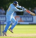 Rahul Dravid cuts en route to his 32 which helped India fight back
