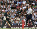 Kent's Matt Walker knows his innings is over after Surrey's wicketkeeper Jonathan Batty completed the catch, The Oval, July 6, 2007