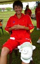 Playing with a strained ligament, Hu Ting Ting added 31 runs with Duan Qiong to take China to a seven-wicket victory over UAE, China v UAE, ACC women's tournament, Johor, July 14, 2007